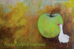 Nr. 105 | Nicht Gans normal