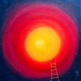 Mondleiter Sonne Esoterik Licht Regenbogen