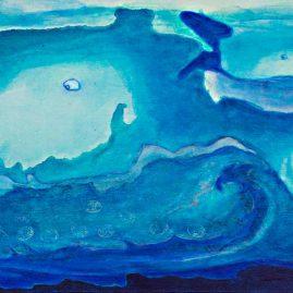 Wal Gänseblümchen Meer Wasser Schwimmbad
